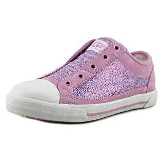 Ugg Australia Laela Youth Cap Toe Canvas Pink Fashion Sneakers
