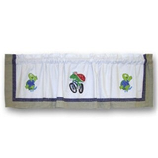 Patch Magic CVGRSC Green Scene, Curtain Valance 54 x 16 in.