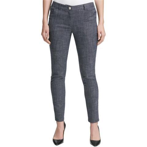 Tommy Hilfiger Womens Berkley Tweed Casual Trouser Pants