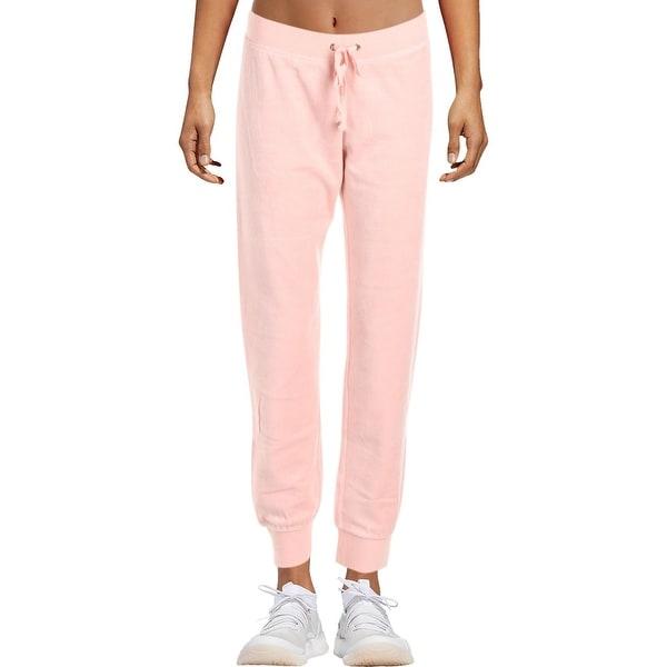 Shop Juicy Couture Black Label Womens Zuma Track Pants Velour Jogger ... e4e53a900