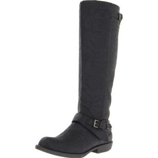Blowfish Womens Axis Almond Toe Mid-Calf Fashion Boots