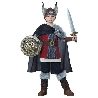 Boys Venturous Viking Halloween Costume (2 options available)