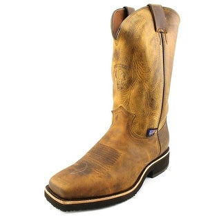 Chippewa Crazy Horse Square Toe Men Square Toe Leather Brown Western Boot