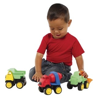International Playthings Little Tuffies Construction Vehicle Set