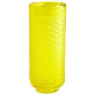 Cyan Design Large Lemon Drop Vase Lemon Drop 14 Inch Tall Glass Vase