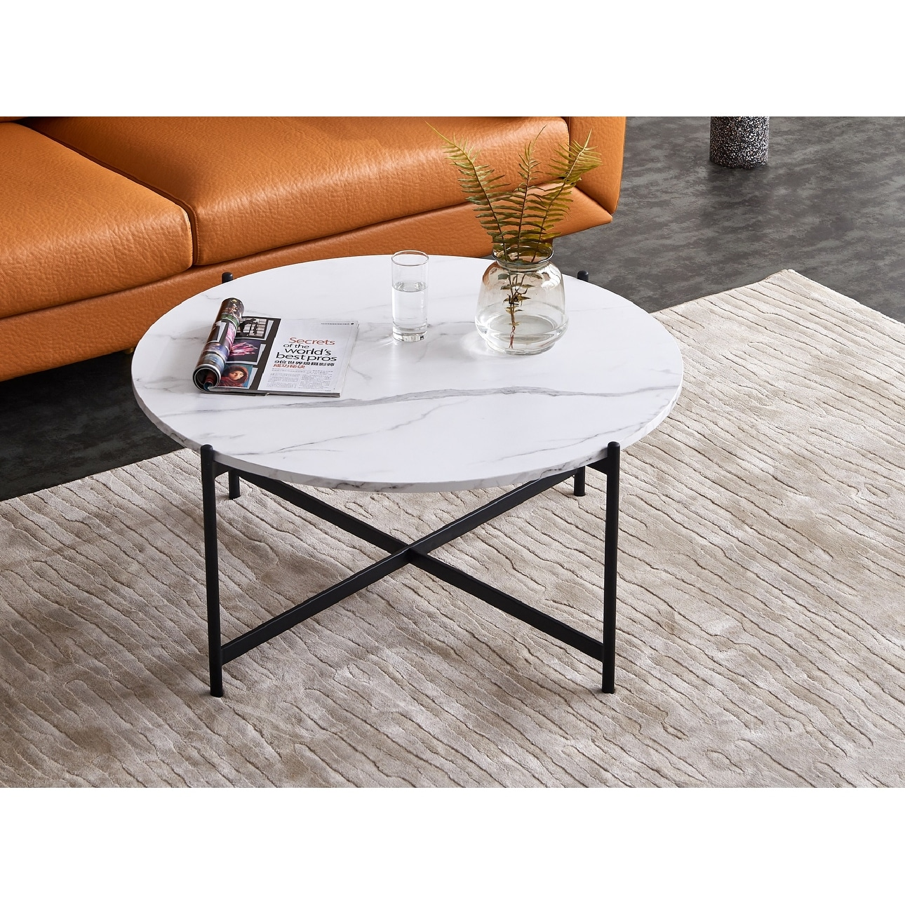 Picture of: Modern Round Coffee Table On Sale Overstock 32190126