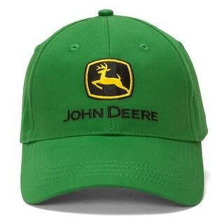 John Deere Cotton Adjustable Baseball Cap - Green