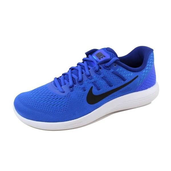 Nike Men's Lunarglide 8 Racer Blue/Black AA8676-400