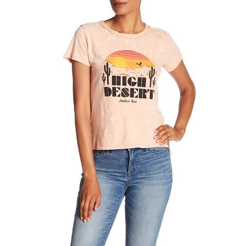 Lucky Brand Women's Large High Desert Knit Top T-Shirt