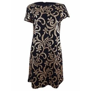 Jessica Simpson Women's Sequin Shift Dress