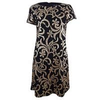 Jessica Simpson Women's Sequin Shift Dress