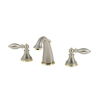 Pfister LF-049-E0 Catalina Widespread Bathroom Faucet - Includes Pop-Up Drain Assembly