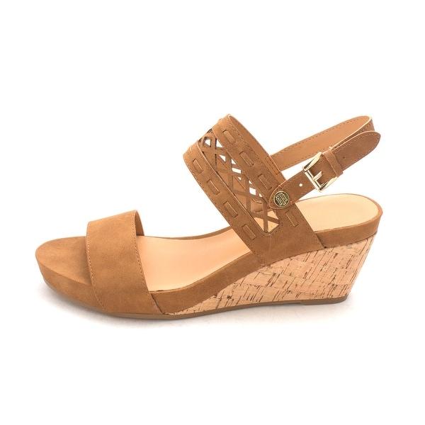Tommy Hilfiger Womens Jenesis Open Toe Casual Platform Sandals