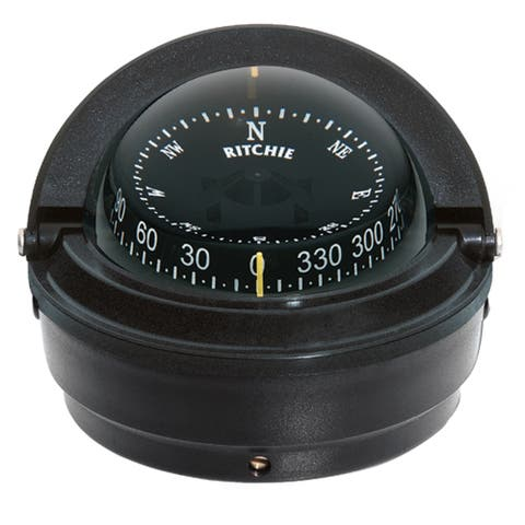 Ritchie compass ritchie s-87 voyager surface mount compass black