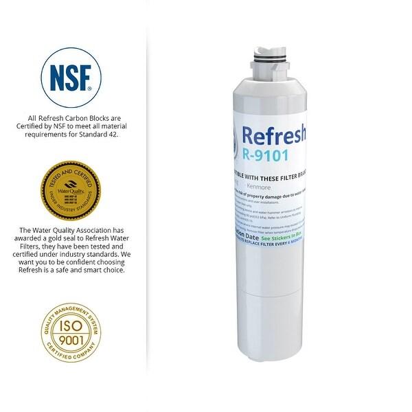 Aqua Fresh Replacement Water Filter 6 Pack Fits Samsung NJW-03 Refrigerators