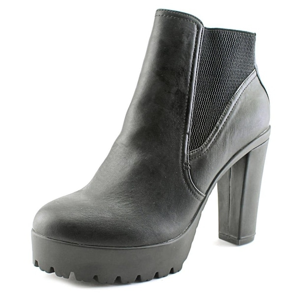 Carlos by Carlos Santana Queeny Women Round Toe Synthetic Bootie