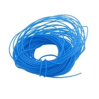 0.56mmx0.86mm PTFE Resistant High Temperature Blue Tubing 10 Meters 32.8Ft