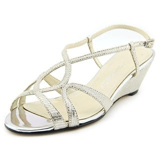 Caparros Lisette Open-Toe Synthetic Slingback Heel