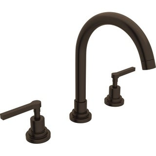 Rohl A2208LM-2 Lombardia Bath Widespread Bathroom Faucet includes Brass Pop-Up Drain Assembly