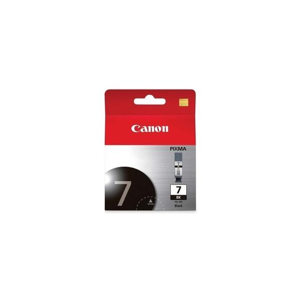 Canon PGI-7BK B Ink Tank Canon PGI-7 Pigment Black Ink Cartridge - Black - Inkjet - 1 Each