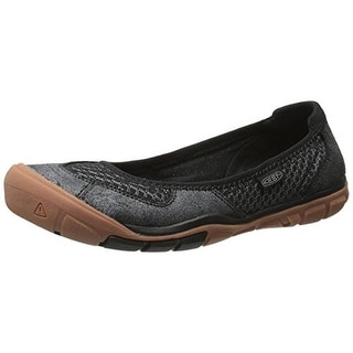 Keen Womens Mercer Leather Mesh Ballet Flats - 5.5