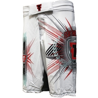 Fear the Fighter MMA Fight Shorts - White