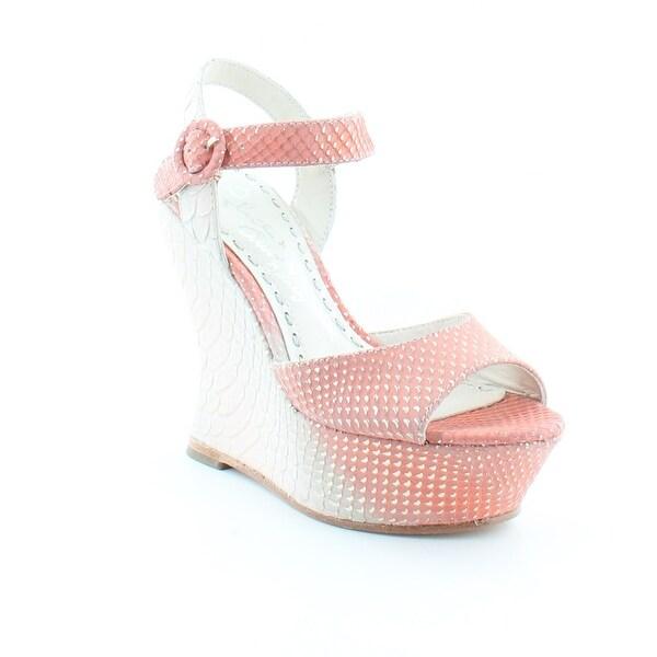 Alice + Olivia Jana Women's Heels Natural/Coral
