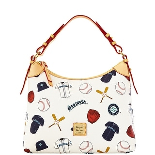 Dooney & Bourke MLB Mariners Hobo (Introduced by Dooney & Bourke at $218 in Feb 2014) - White
