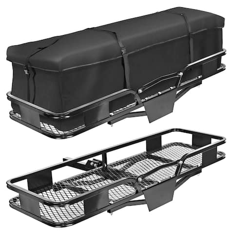 Direct Aftermarket Folding Hitch Cargo Carrier Luggage Rack 60 inch Hauler 2 inch Receiver