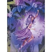"""11.75""""X15.75"""" 14 Count - Fairy Stamped Cross Stitch Kit"""