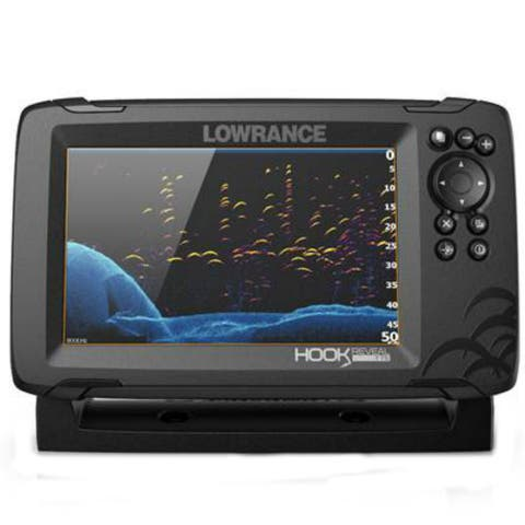 Lowrance 000-15513-001 HOOK Reveal 7 Fishfinder with DownScan Imaging