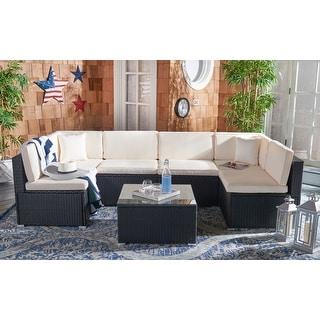 Safavieh Outdoor Living Diona Patio Sectional Sofa Set