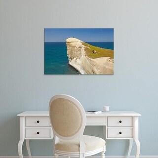 Easy Art Prints David Wall's 'Aoraki Mount Cook And Lake Pukaki' Premium Canvas Art