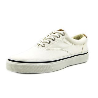 Sperry Top Sider Striper LL Cvo Men Canvas White Fashion Sneakers