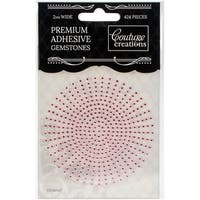 Couture Creations Self-Adhesive Gemstones 2Mm 424/Pkg-Pink Lace