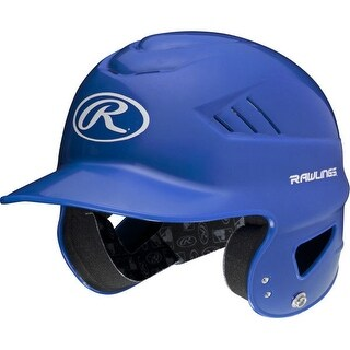 "Rawlings Coolflo High School/College Batting Helmet (Royal Blue/6.5"" - 7.5â)"