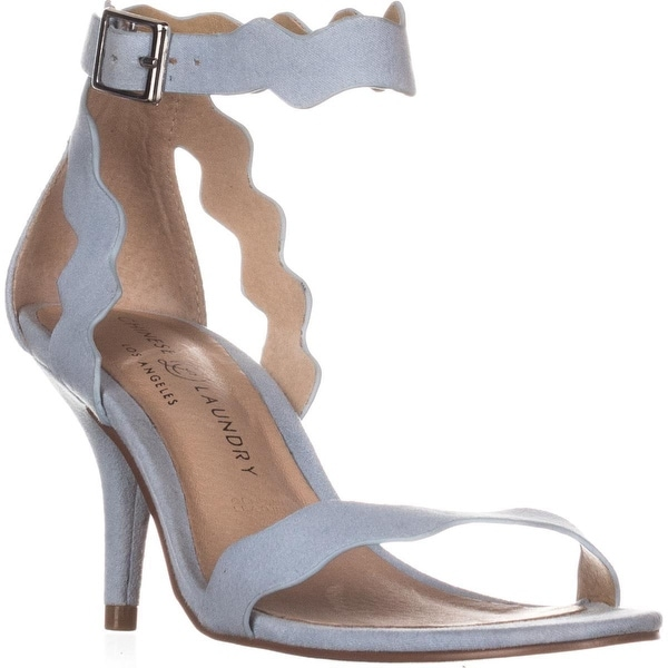 Chinese Laundry Rosie Ankle Strap Sandals, Chambray - 5.5 us / 36 eu