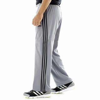 Adidas NEW Gray Mens Size Small S Stripe Contrast Pants Athletic Apparel