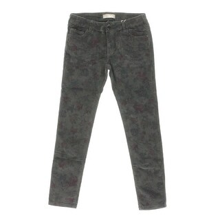 Zara Girls Floral Print Adjustable Waist Casual Pants - 9/10