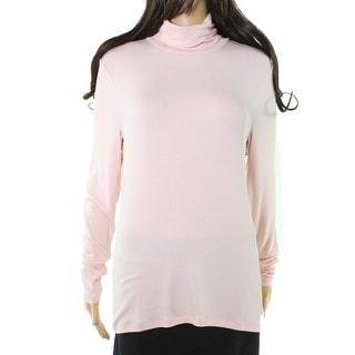 Lauren By Ralph Lauren NEW Pink Women's Size Large L Turtleneck Sweater