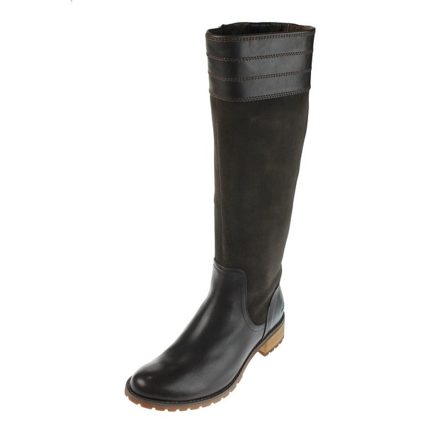 Timberland Womens Bethel Heights Riding Boots Suede Knee High