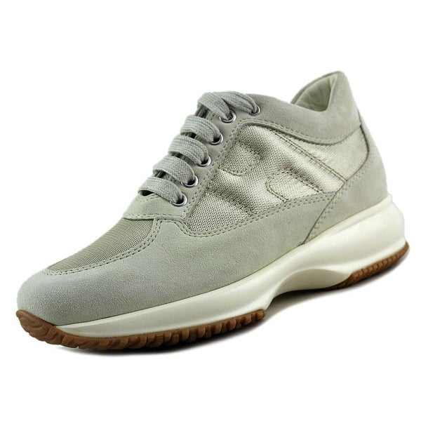 Shop Hogan Interactive Donna Suede Fashion Sneakers - Free Shipping ... d8185b21529