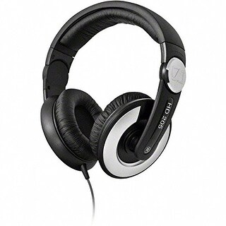 Sennheiser HD 205-II Studio Grade DJ Headphones (Black/Grey)