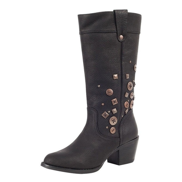 Durango Fashion Boots Womens Philly Turn Down Pull On Black
