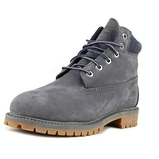 Timberland 6in Prem Youth Round Toe Suede Boot