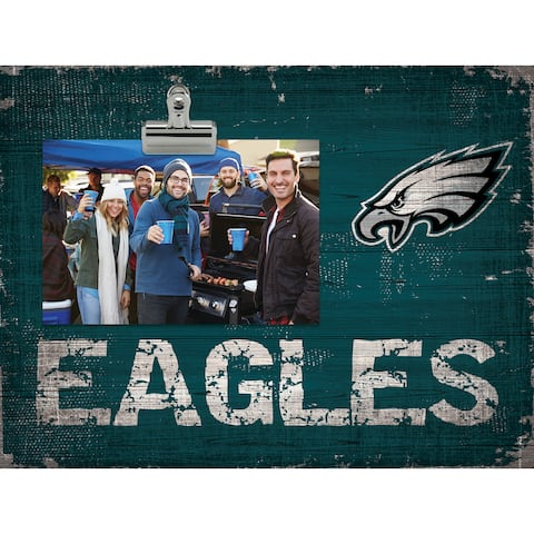 Philadelphia Eagles Clip Frame