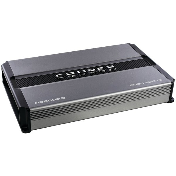 Crunch Pd 2000.2 Power Drive 2-Channel Bridgeable Class Ab Amp (2,000 Watts Max)