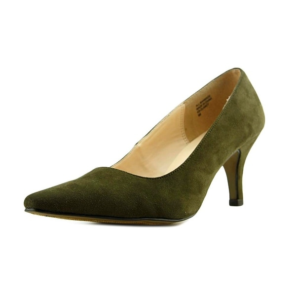 e61eb4dea119 Shop Karen Scott Clancy Women Pointed Toe Synthetic Green Heels ...