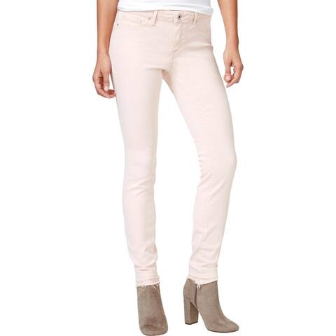 Jessica Simpson Womens Colored Skinny Jeans Denim Released Hem