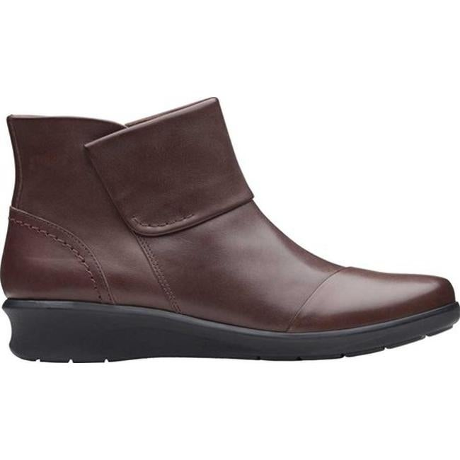 Hope Track Ankle Boot Mahogany Leather